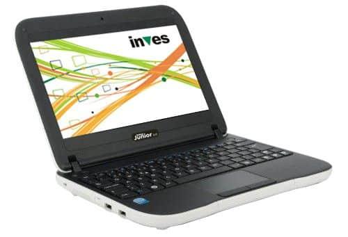 Inves Junior 2.0, un portátil para la clase 2