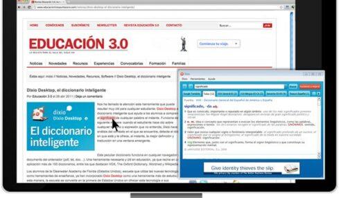 Dixio Desktop, el diccionario inteligente 2