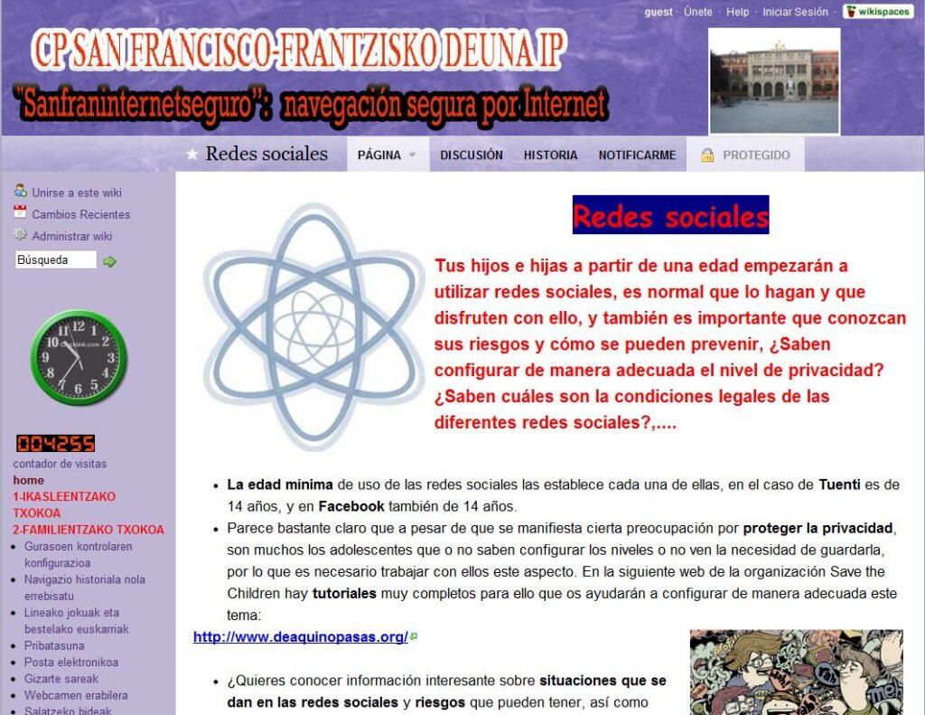 Navegar seguro por Internet con la wiki Sanfraninternetseguro