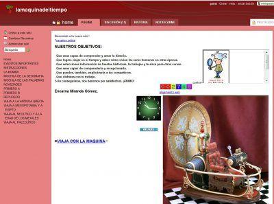 Wiki La máquina del tiempo