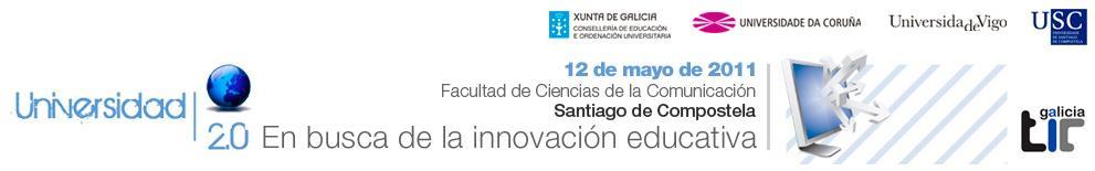 Jornada Universidad 2.0 en Santiago de Compostela