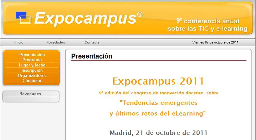 Educación 3.0 te invita GRATIS a ExpoCampus 2011