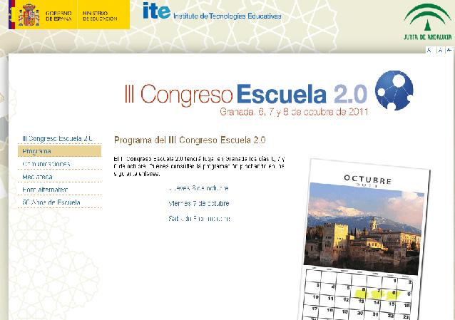 III Congreso Escuela 2.0, una cita en Granada