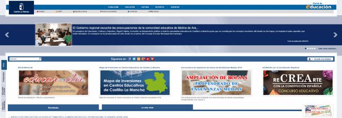 Portal de educación de Castilla-La Mancha