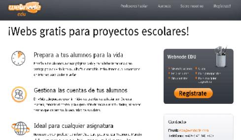 Webno Edu, una plataforma gratuita para crear webs dirigida a la comunidad educativa