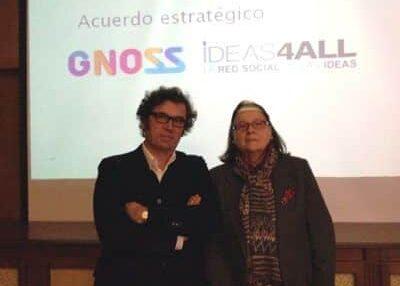 GNOSS e ideas4all, la alianza del conocimiento y las ideas