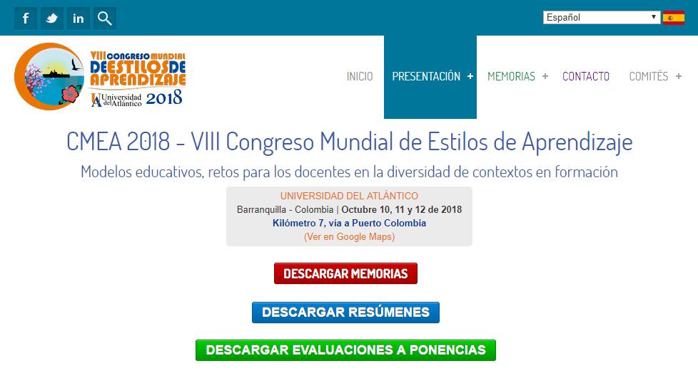 Congreso Mundial de Estilos de Aprendizaje
