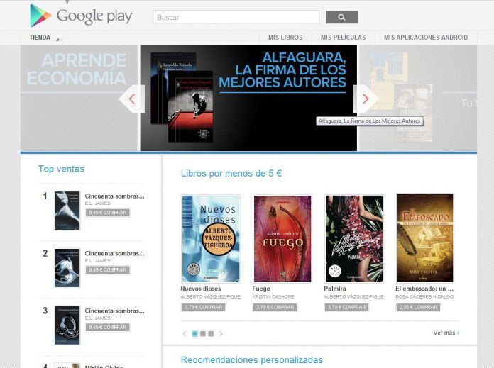 Los eBooks de Prisa Ediciones, en Google Play