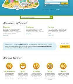 Tiching continúa creciendo en usuarios y recursos