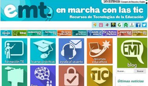 En Marcha con las TIC, una página de consulta y ayuda para profesores 2