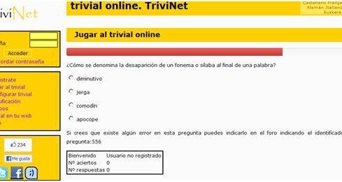 Trivinet.com, para crear un trivial colaborativo