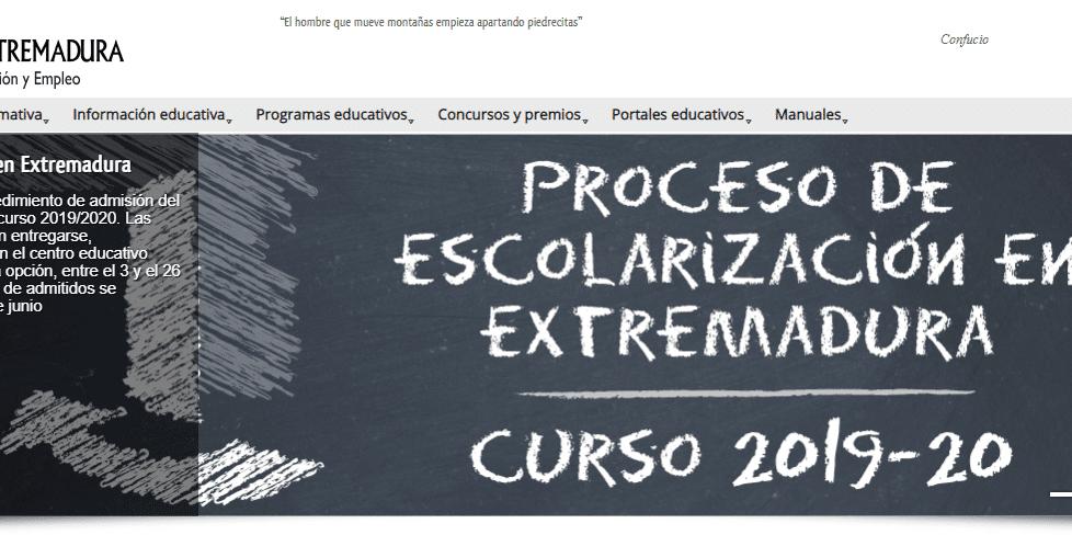 educarex portal educativo