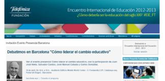 liderar el cambio educativo