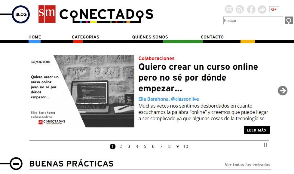 SMConectados estrena blog 2