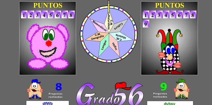 Juego Grado 56