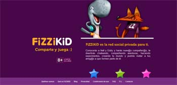 Red social Fizzikid