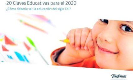 Las 20 claves de la educación para 2020, según Fundación Telefónica 1