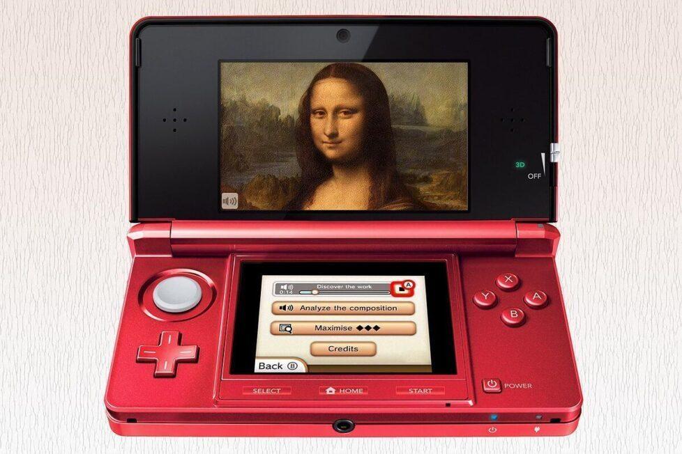 Louvre desde la Nintendo 3DS