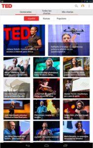 Aplicación TED