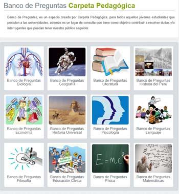 Plataforma Carpeta Pedagógica