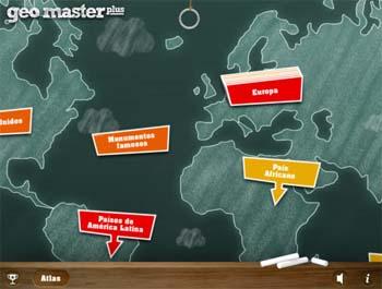 Aplicación para iPad Geomater HD Plus