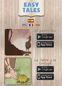 Easy Tales: cuentos clásicos para iOS y Android