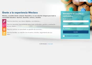 Weclass - Plataformas educativas