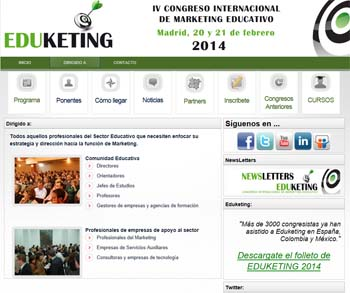 Eduketing 2014: un congreso para analizar los beneficios del marketing educativo