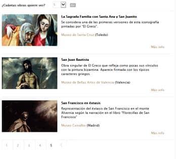 Artistas y creadores: El Greco