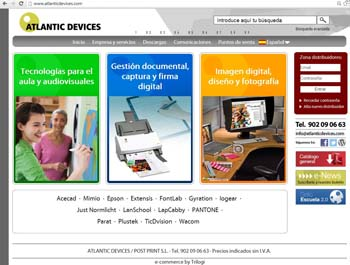 Atlantic Devices web