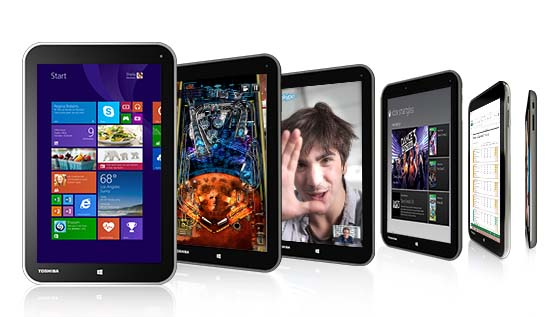 Toshiba Encore, 8 pulgadas y Windows 8.1