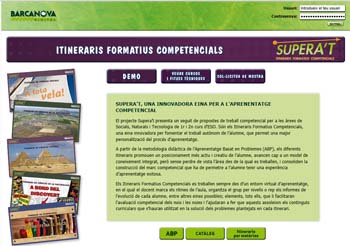 Supera't: entorno virtual de aprendizaje 3