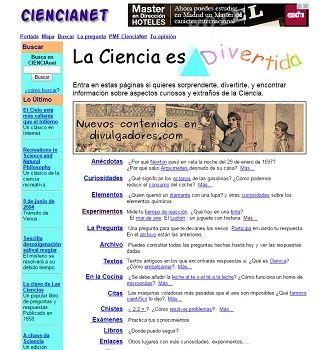 Ciencianet experimentos de física y química