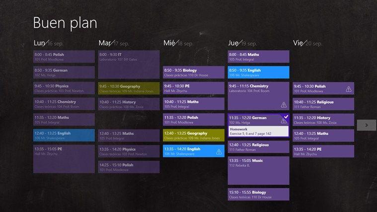 Buen Plan, una app para que los alumnos se organicen