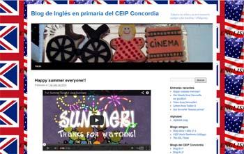 Blog de Inglés en Primaria del CEIP Concordia
