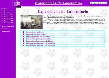 experiencias de laboratorio de física y química