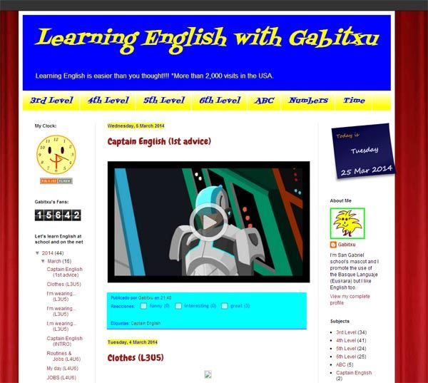 Learning English with Gabitxu