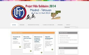 'Bici solar y solidaria', el proyecto del alumnado del Liceo Francés