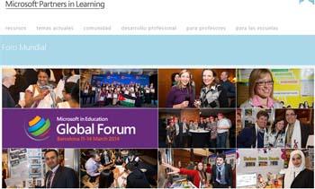 Barcelona acoge 'Microsoft Education Global Forum 2014'