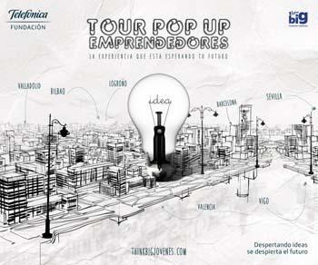 Comienza 'Tour Pop Up Emprendedores' de Fundación Telefónica