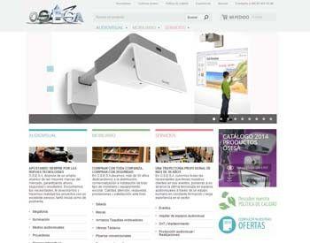 Equipamiento de centros educativos con OSESA