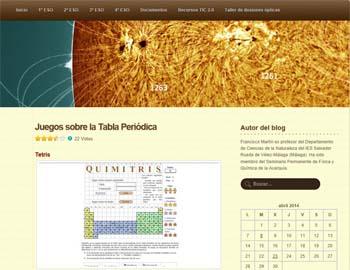 Blog tabla periódica