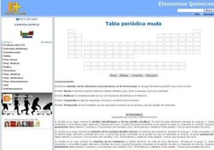 Recursos para repasar y estudiar la tabla periódica de los elementos 8