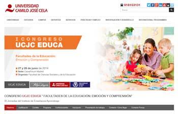 I Congreso UCJC 'Facultades de la Educación: Emoción y Comprensión'