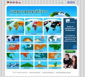 Juegos para estudiar geografía en Secundaria 6