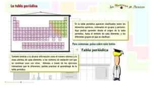 Recursos para repasar y estudiar la tabla periódica de los elementos 9