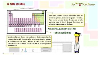 Recursos para repasar y estudiar la tabla peridica de los elementos 5la manzana de newton urtaz Choice Image