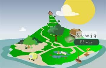 Lectoescritura para Infantil con 'La isla de las letras' 1