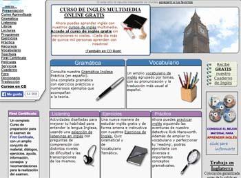 páginas para estudiar Inglés la mansión del ingles