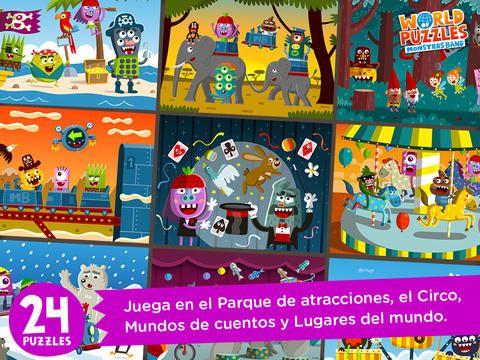 Mundo de Puzles, para fomentar la memoria y la creatividad desde el iPad